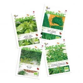 Økologisk ekrydderurteblanding