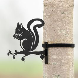 Metalsilhuet - egern
