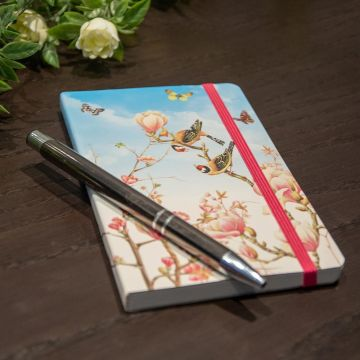 Notesblok A6 Softcover Magnolia - Janneke Brinkman