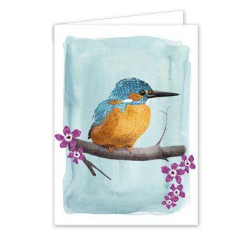 Postkort Isfugl af Myrte