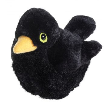 Singing Bird Soft Toy Solsort