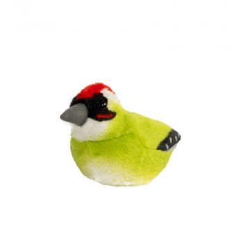 Singing Bird Soft Toy Grønspætte