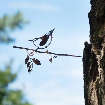 Metalbird Nötväcka