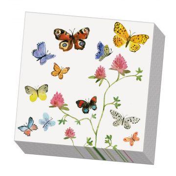Servetter Fjärilar 20 st.