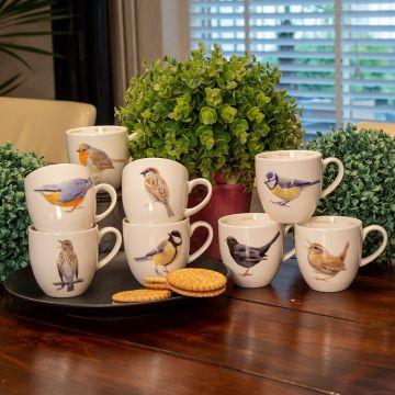 Muggset Trädgårdsfåglar