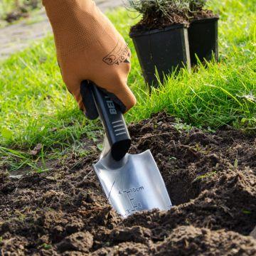 Planteringsspade Alu.- Livslång garanti!
