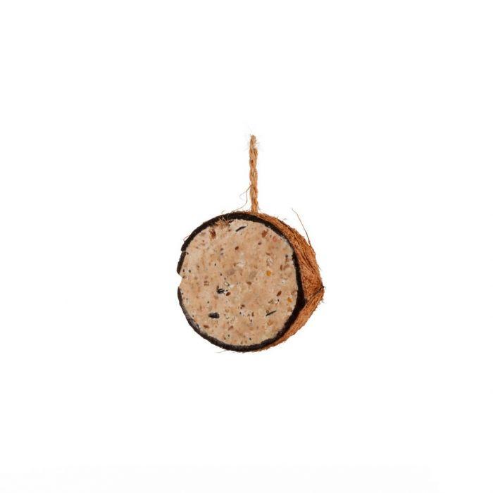 Kokosnød med jordnøddesmør