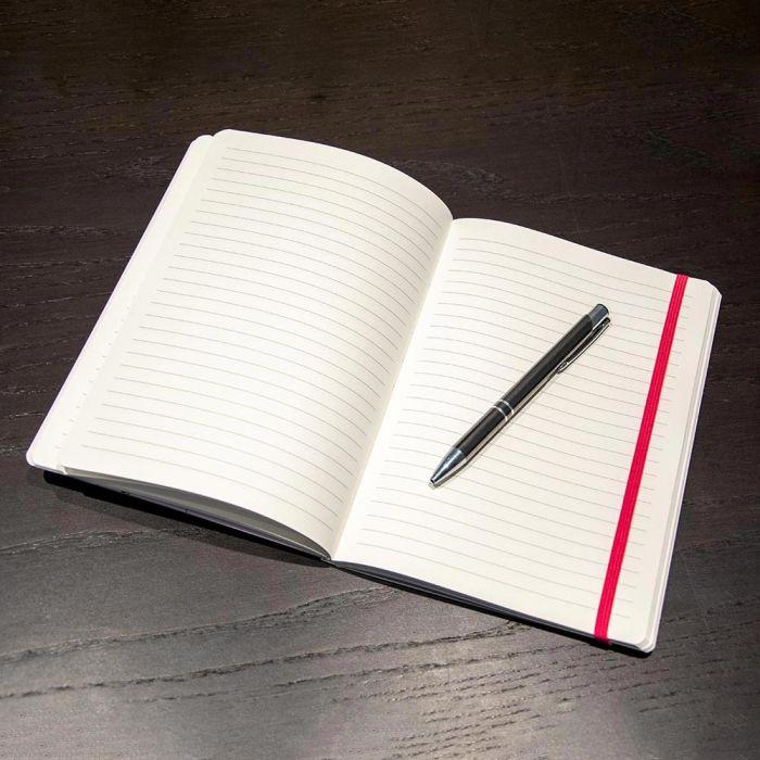 Notesblok A5 Softcover Magnolia - Janneke Brinkman