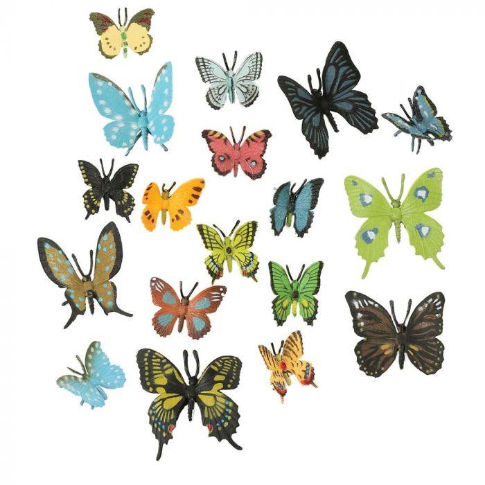 Pakke med sommerfugle