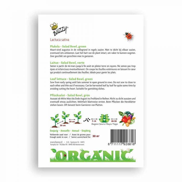 Buzzy® Bladesalat Green Salad Bowl