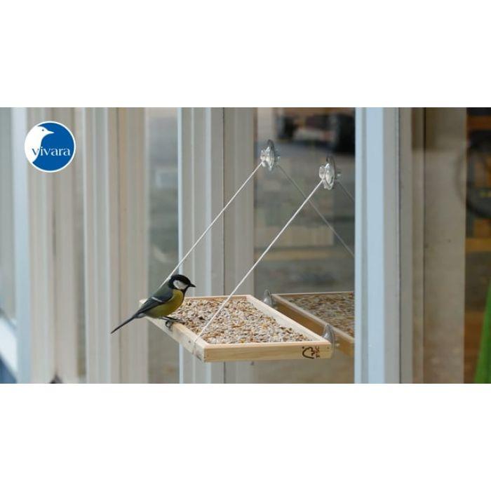 Foderbræt til vinduer BirdSwing XL