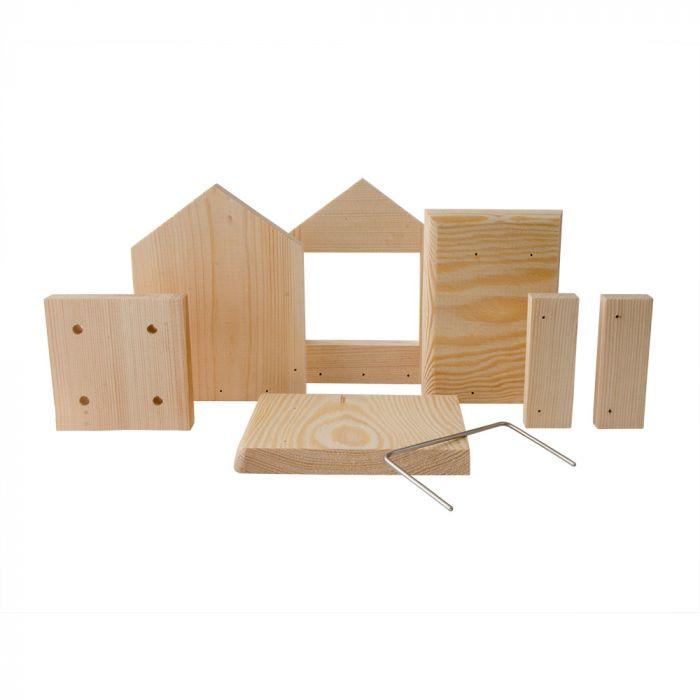 Byggpaket för foderhuset Juna