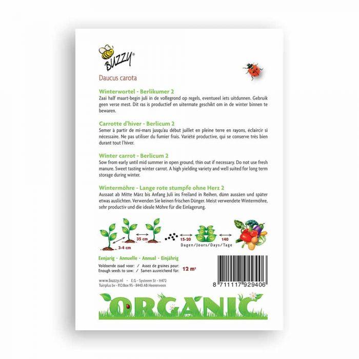 Buzzy Organiska fröer