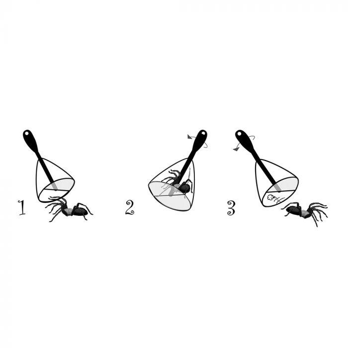 Edderkoppefanger BugAway - 30 cm