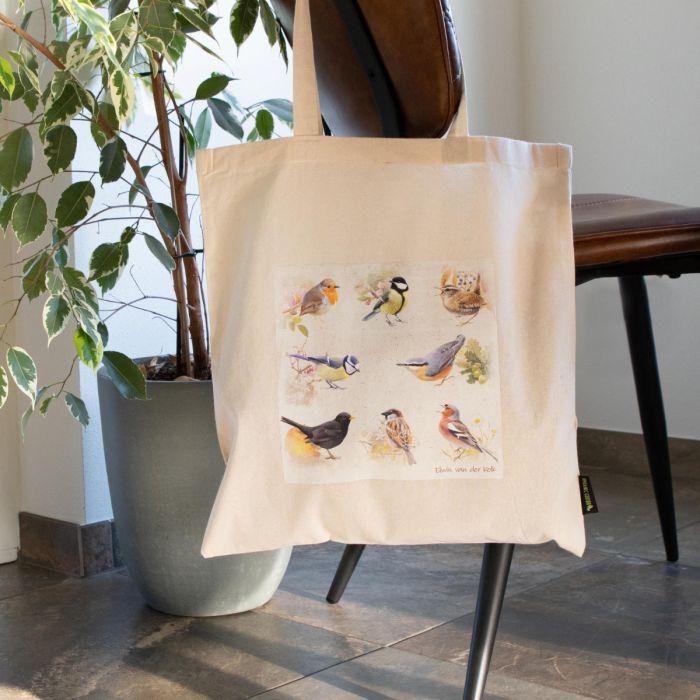 Bomuldstaske havens fugle - Elwin van der Kolk