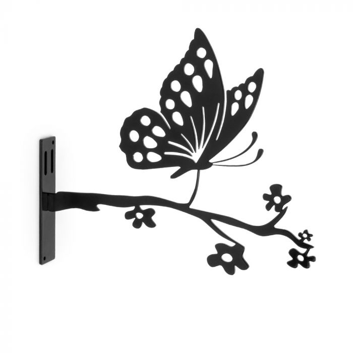 Metallsilhuett – Fjäril