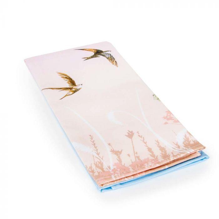 """Viskestykker """"Svaler"""" i rosa og blå (Roy Kirkham)"""