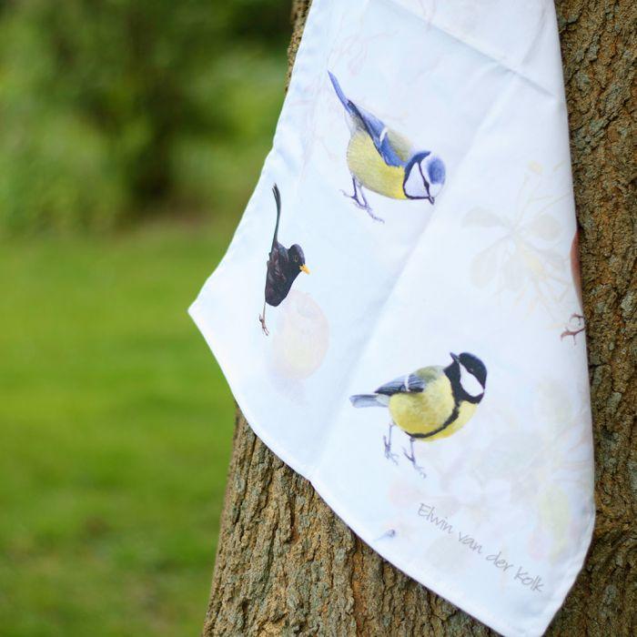 Viskestykke, havefugle – Elwin van der Kolk